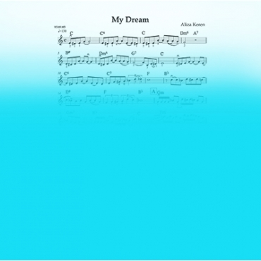 My Dream. Sheet music for jazz violin